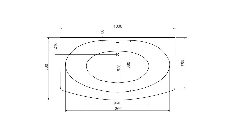 baignoire genova baignoire design mobilier salle de bain design. Black Bedroom Furniture Sets. Home Design Ideas