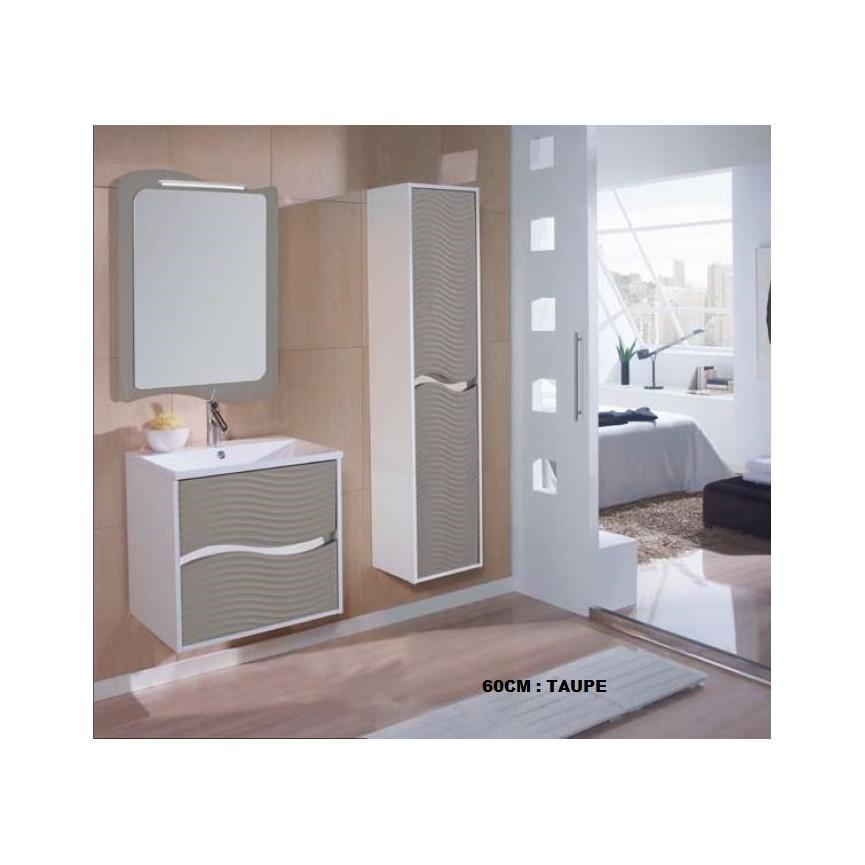 Ensemble de salle de bain ondas meuble salle de bain une for Meuble de salle de bain 60