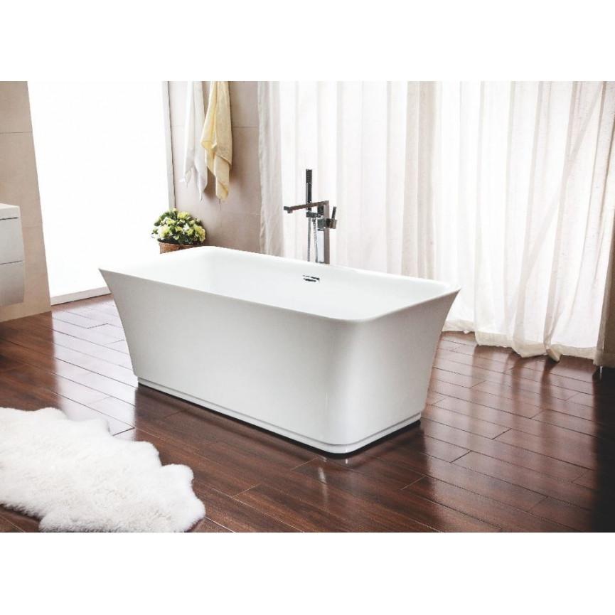 Baignoire lot albarea 150 x 75 cm baignoire design mobilier salle de bain - Baignoire ilot 150 cm ...