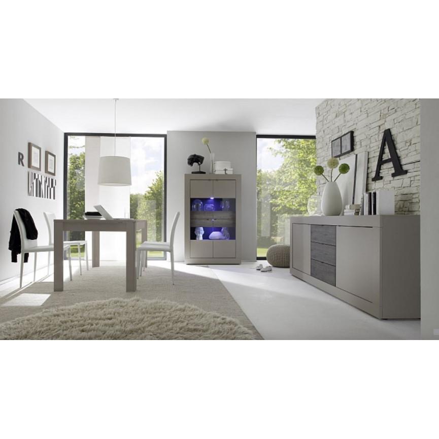 Meuble Tv Maroc : Buffet Basic 210cm Taupe Wengé – Azura Home Maroc