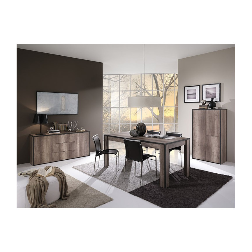 buffet napoli 160 cm. Black Bedroom Furniture Sets. Home Design Ideas