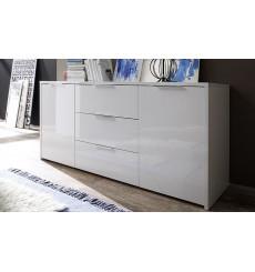 BUFFET PIMONTE 160cm, blanc