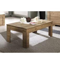 Table basse  FIRENZE / ZEOS, chene miel 122 cm
