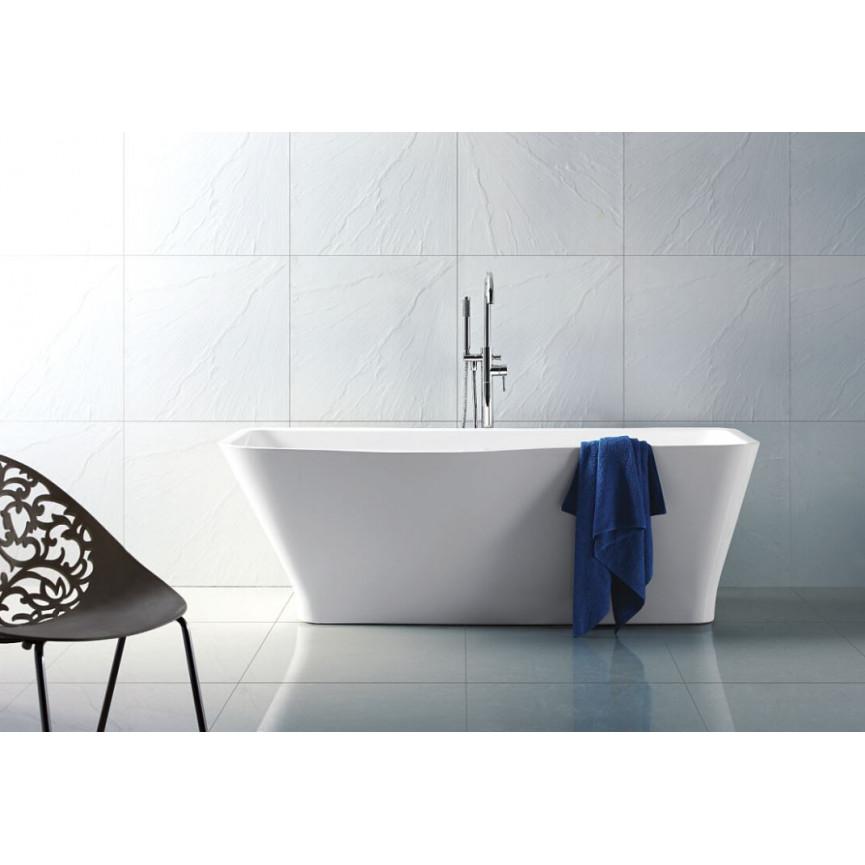 Baignoire lot sensea 175x 80x 60cm baignoire design mobilier salle de bain - Colonne de baignoire ilot ...