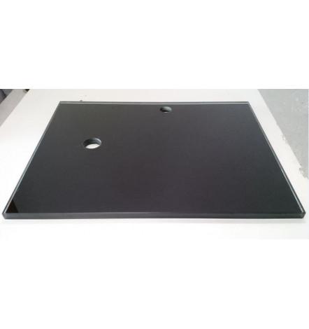plan vasque vasque poser noir accessoires salle de. Black Bedroom Furniture Sets. Home Design Ideas