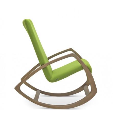 JULIA Fauteuil A Bascule Chaise Design Boutique De Meuble Et - Fauteuil bascule design