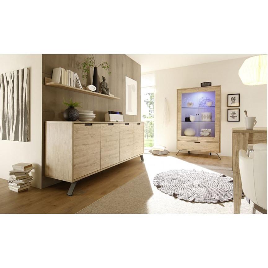 vaisselier vitrine palma ch ne. Black Bedroom Furniture Sets. Home Design Ideas
