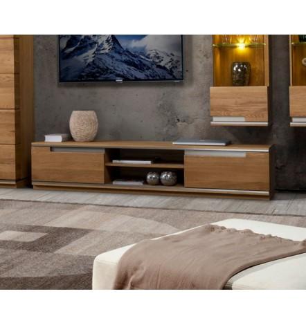 meuble tv torino 180cm ch ne. Black Bedroom Furniture Sets. Home Design Ideas