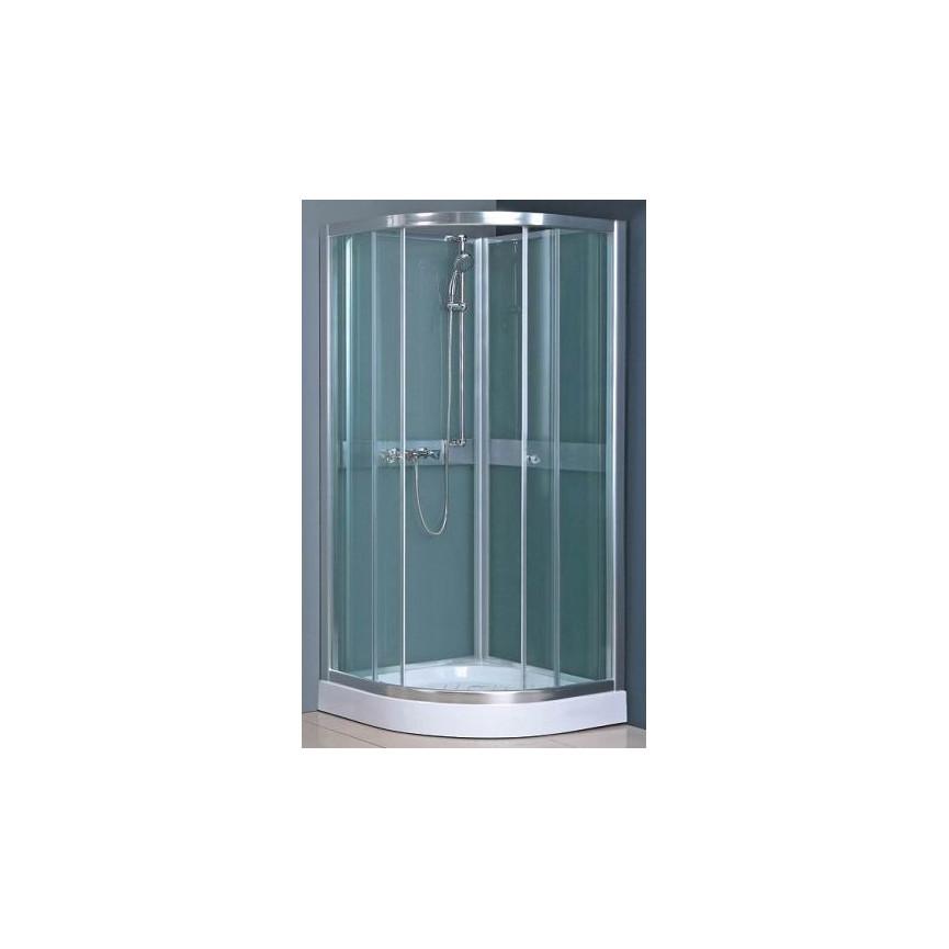 Cabine de douche thisio 80 80 203 cm ou 90 90 203 cm for Cabine de douche ou douche classique