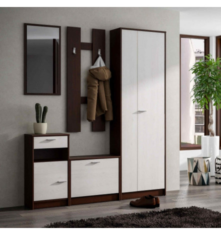 meuble rangement entre couloir good petit meuble. Black Bedroom Furniture Sets. Home Design Ideas