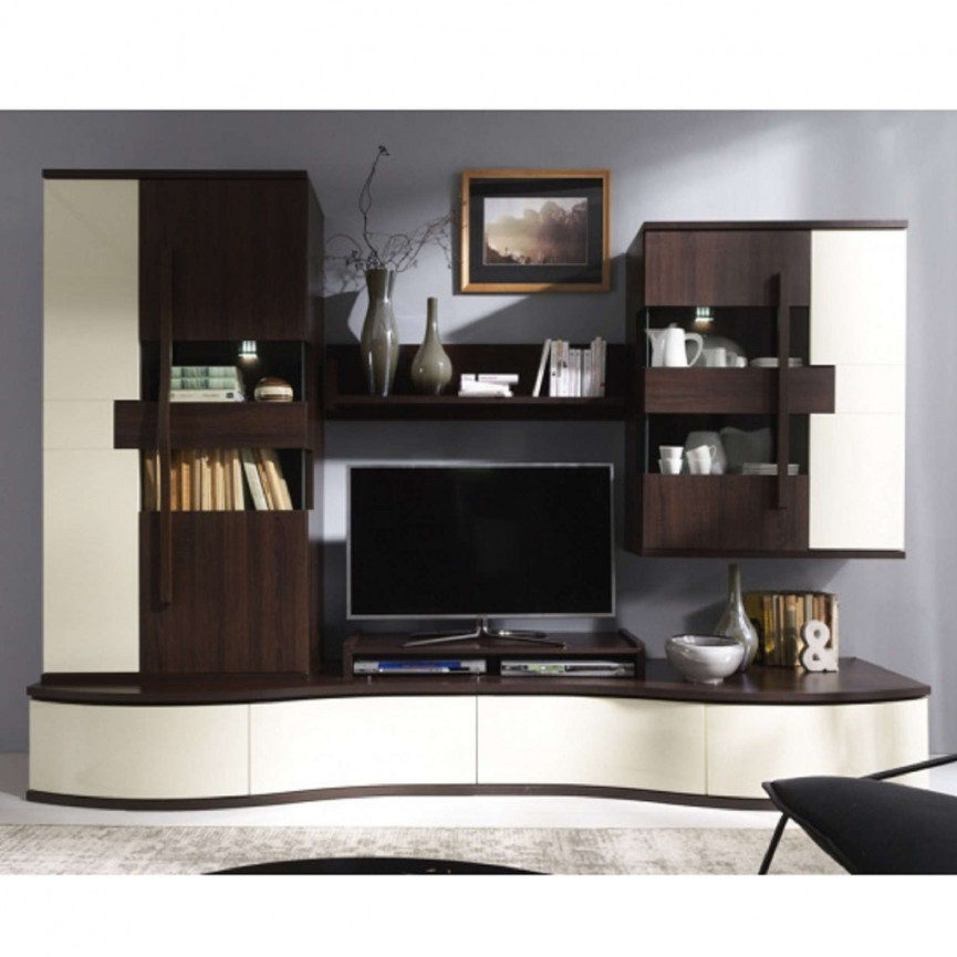 meuble tv chanell dark s jour meuble tv. Black Bedroom Furniture Sets. Home Design Ideas
