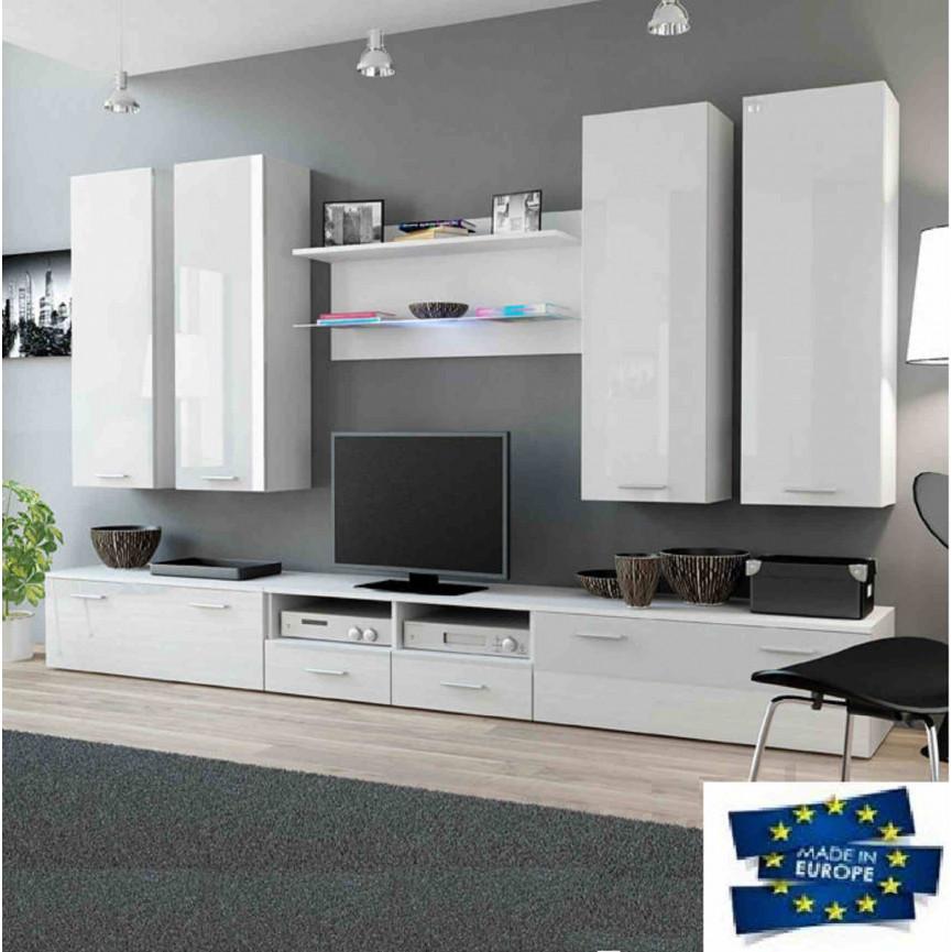 ensemble meuble tv dream d coration s jour. Black Bedroom Furniture Sets. Home Design Ideas