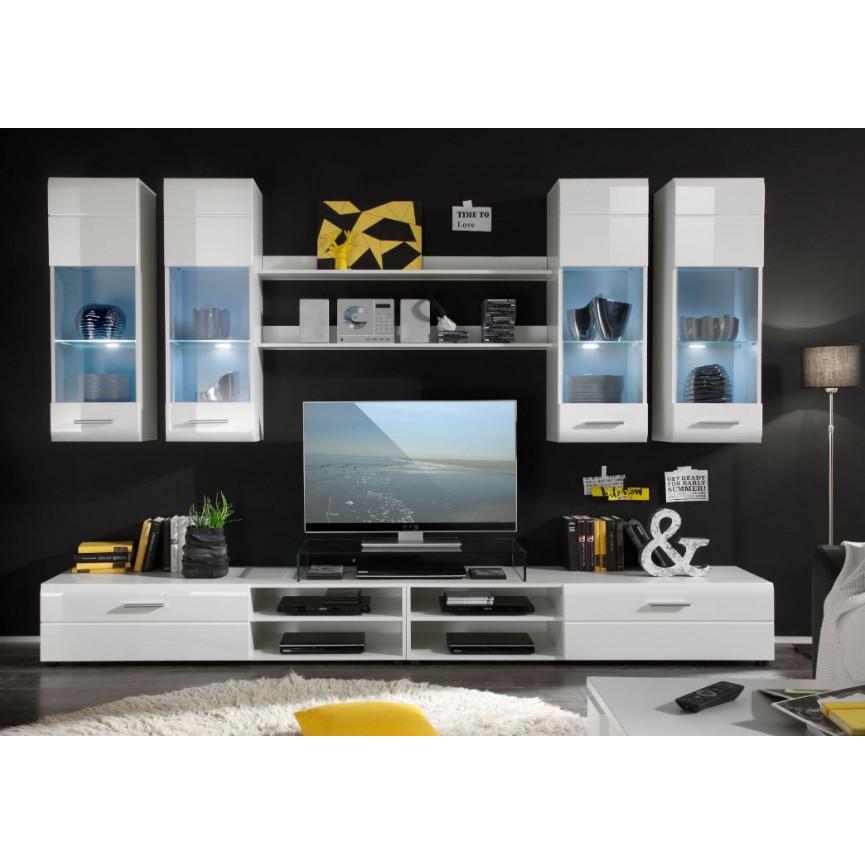 Ensemble meuble tv ajaccio d coration s jour for Ensemble meuble tv