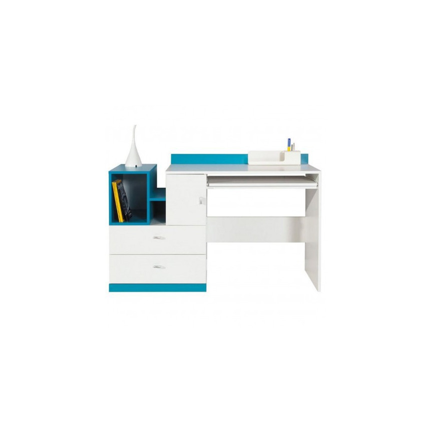 bureau mobi 130cm azura home maroc. Black Bedroom Furniture Sets. Home Design Ideas
