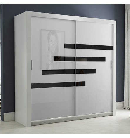 armoire daffo 180 200 64 cm azura home maroc. Black Bedroom Furniture Sets. Home Design Ideas