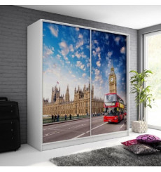 Armoire LONDON 200cm