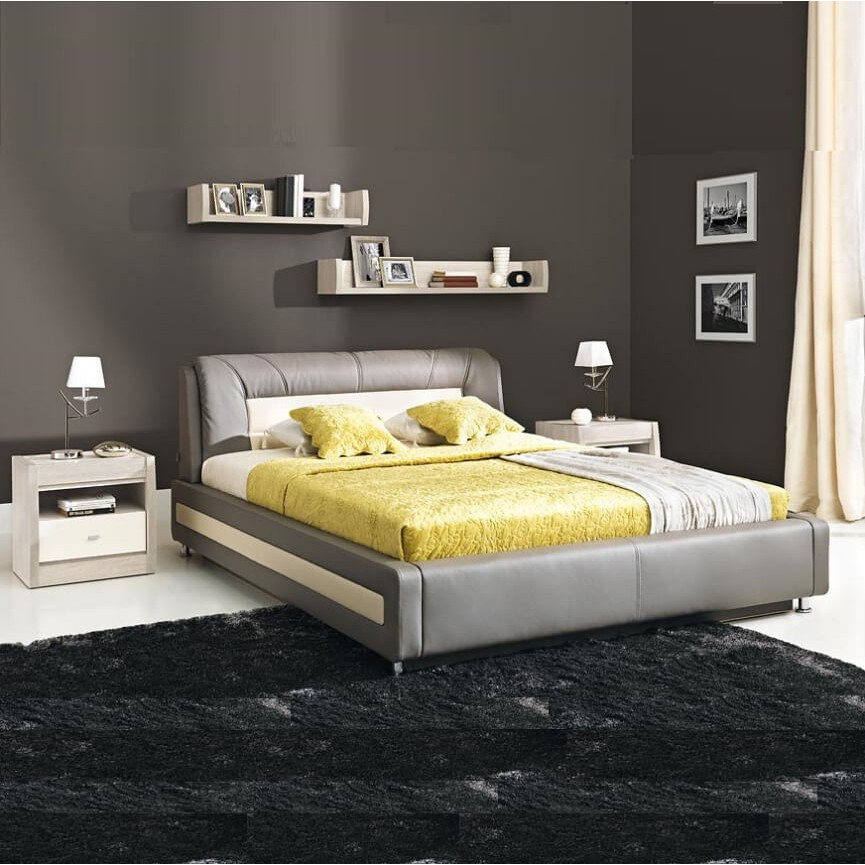 lit adulte tokio 160cm. Black Bedroom Furniture Sets. Home Design Ideas