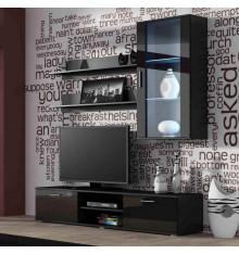 Ensemble meuble TV SOHO 2 noir