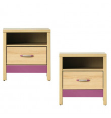 LOT de 2 Tables de chevet CODI