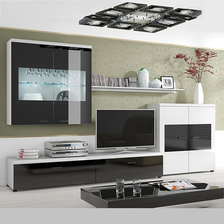 ensemble meuble tv flash new s jour. Black Bedroom Furniture Sets. Home Design Ideas