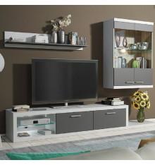 Ensemble meuble TV DOLORES NEW