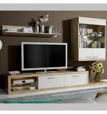 Ensemble meuble TV DOLORES BLANC