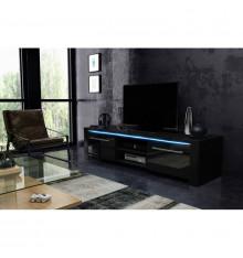 Meuble TV RIVA noir ou blanc
