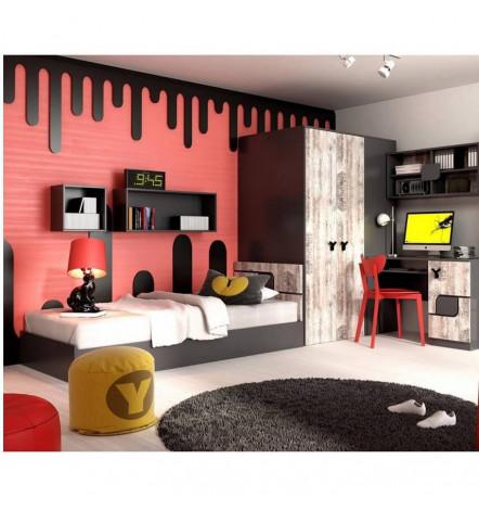 Chambre OSLO-Mobiler d\'enfant- Mobilier design