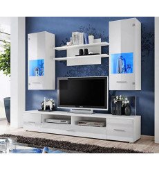 Ensemble meuble TV CORTE blanc