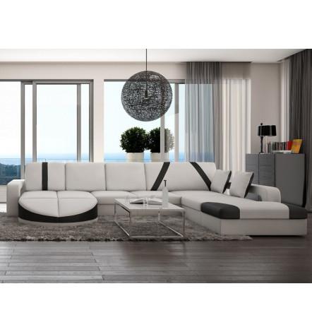 canap panoramique udine canap d 39 angle design boutique meubles design. Black Bedroom Furniture Sets. Home Design Ideas