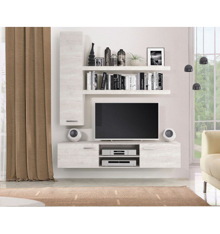 ensemble meuble tv sand s jour meuble tv. Black Bedroom Furniture Sets. Home Design Ideas