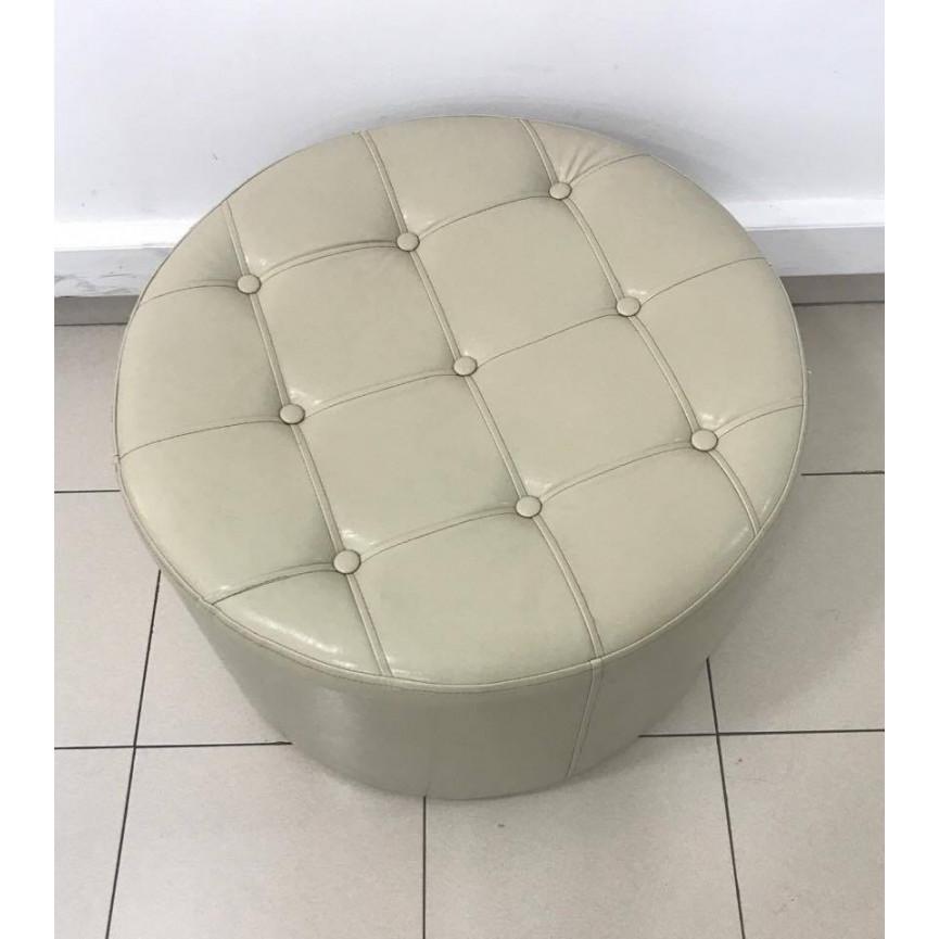 pouf repose pieds 60 cm. Black Bedroom Furniture Sets. Home Design Ideas