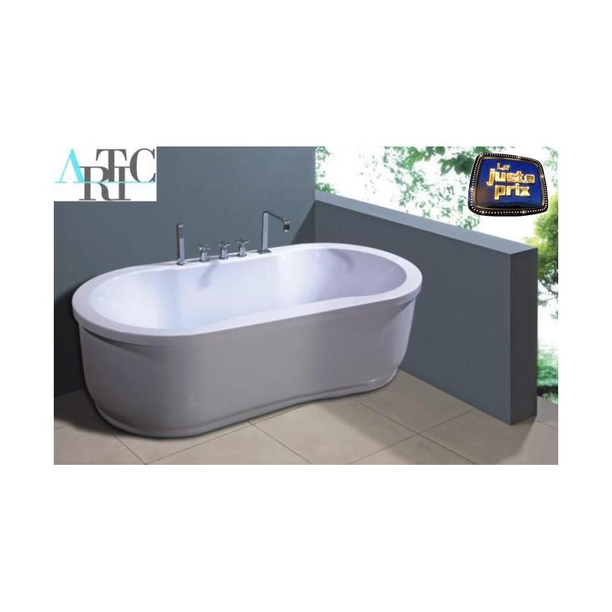 baignoire balneo delos 170 80 cm baignoire design. Black Bedroom Furniture Sets. Home Design Ideas