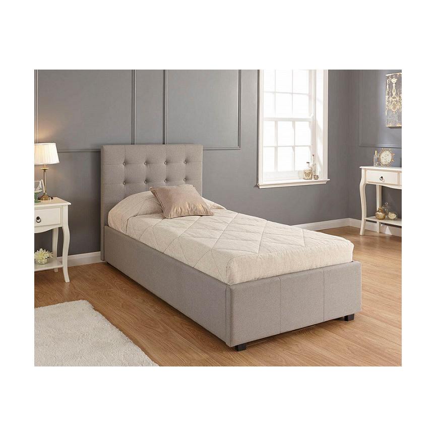 lit une place elba 90 cm. Black Bedroom Furniture Sets. Home Design Ideas
