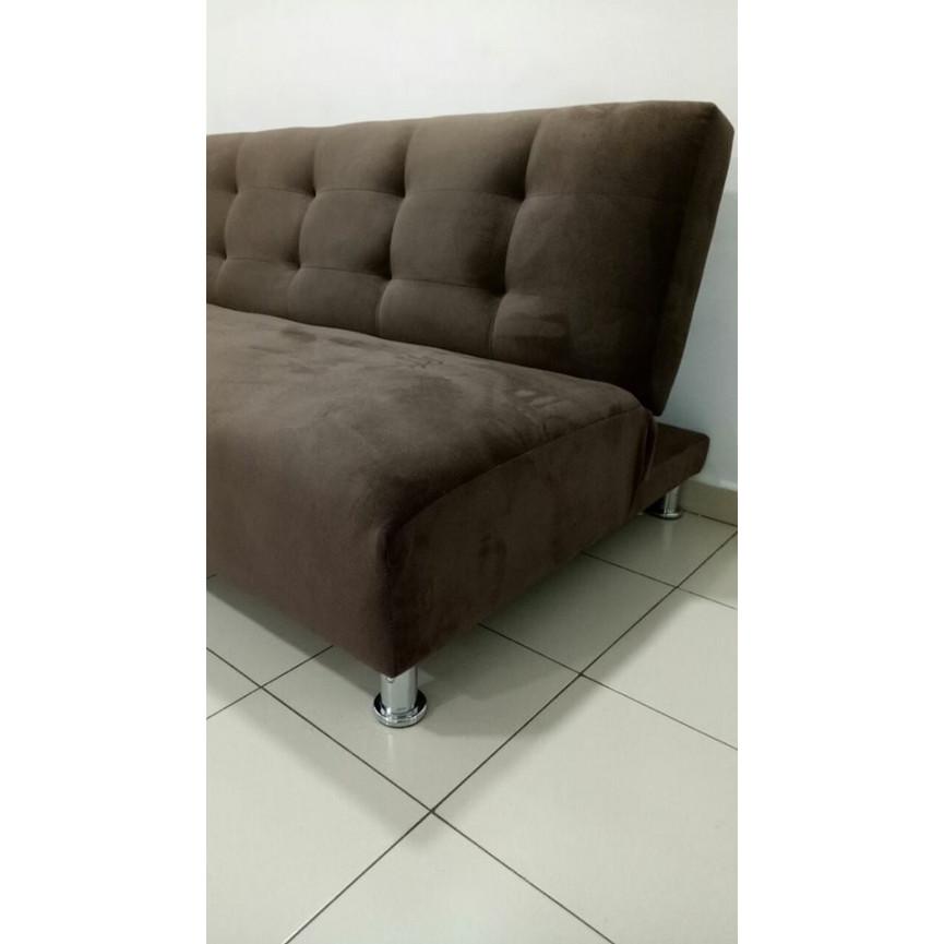 banquette clic clac butera marron banquette clic clac. Black Bedroom Furniture Sets. Home Design Ideas