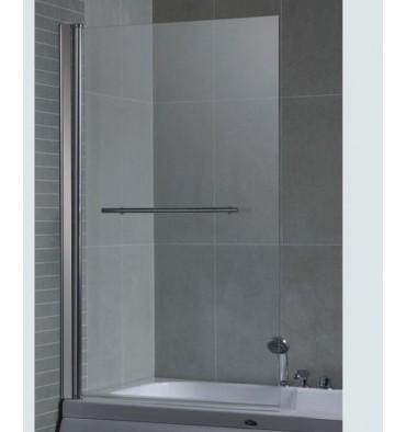Pare baignoire palmera 86 140 cm meuble salle de bain - Pare baignoire miroir ...