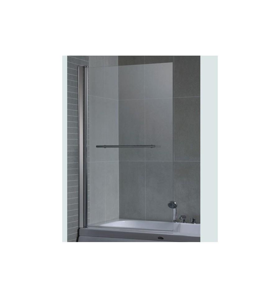 Pare baignoire palmera 86 140 cm meuble salle de bain for Baignoire dimension 140