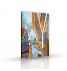 Tableau décoratif An abstract painting L 60 x H 100 cm - intérieur décoration art, chambre, mur A316