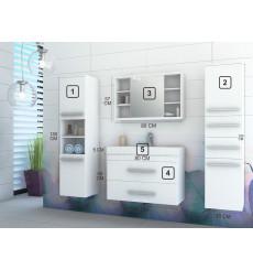 Meuble salle de bain JOLENE Blanc