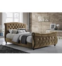 Canapé d'angle modulable DOMINO Marron 272 x 188 cm