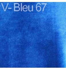 Fauteuil retro HELENA bleu