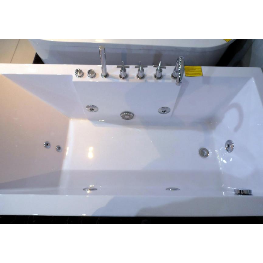 Baignoires Bain: Baignoire Balneo ANAFI 160*80 Cm- Baignoire Design