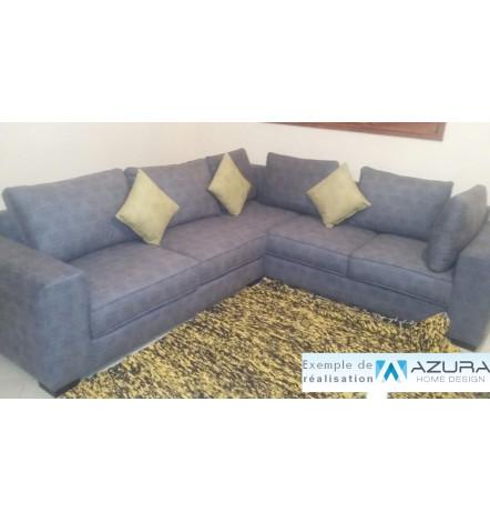 couverture plaid canap en microfibre 150 200 cm. Black Bedroom Furniture Sets. Home Design Ideas