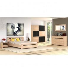 Chambre complète DOVER 140x200 cm