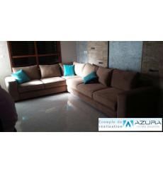 Lit ras du sol type lit cabane pour chambre enfant 160x80 cm