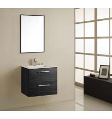 Meuble de salle de bain ZALANA, noir