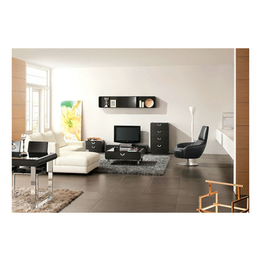 meuble tv aragona brun meuble tv design d coration s jour. Black Bedroom Furniture Sets. Home Design Ideas