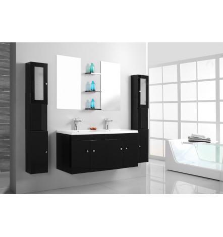Ensemble de salle de bain BARCELONE noir- Meuble Salle de bain ...