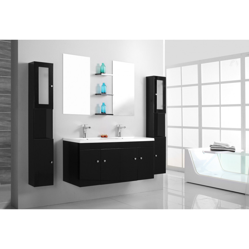 meuble salle de bain arrondi awesome meublesdb pbat fur pw d x bien choisir son meuble de salle. Black Bedroom Furniture Sets. Home Design Ideas