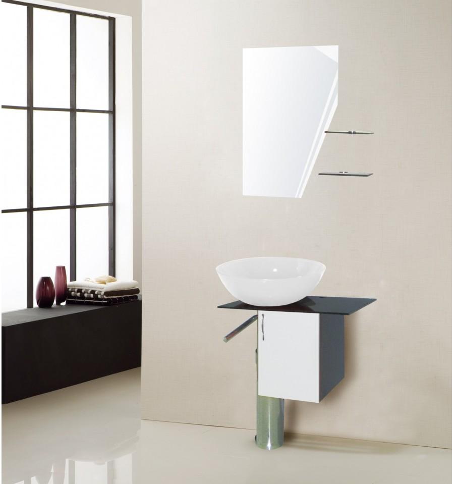 Ensemble de salle de bain manresa blanc for Ensemble de salle de bain